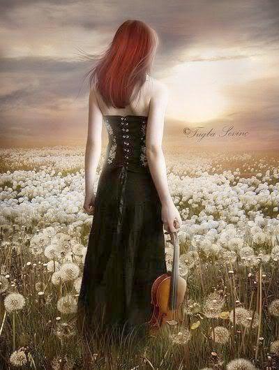 Ah les rouquines au violon :-)