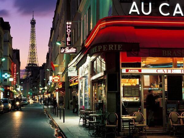 Paris comme un tableau d'Edward Hopper