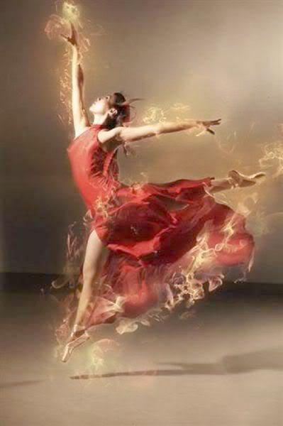 L'amour est aussi léger que la ballerine, car il nous porte !!!!