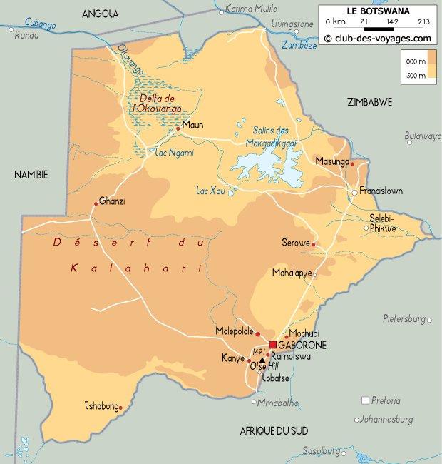 Les Pays _ _ Botswana