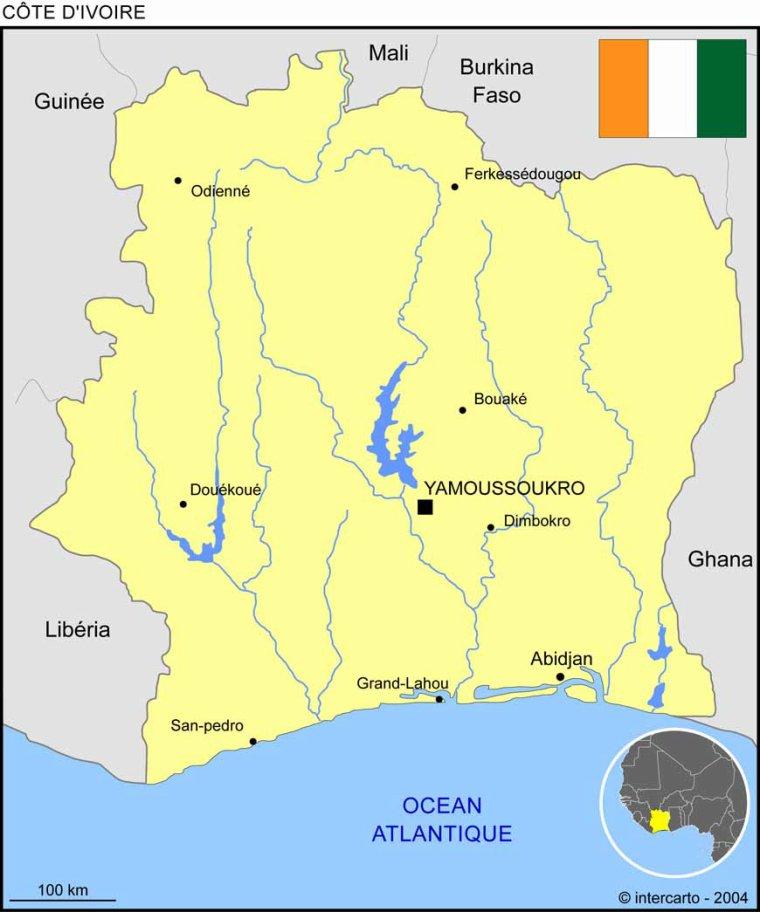 Les Pays _ _ Côte d'Ivoire