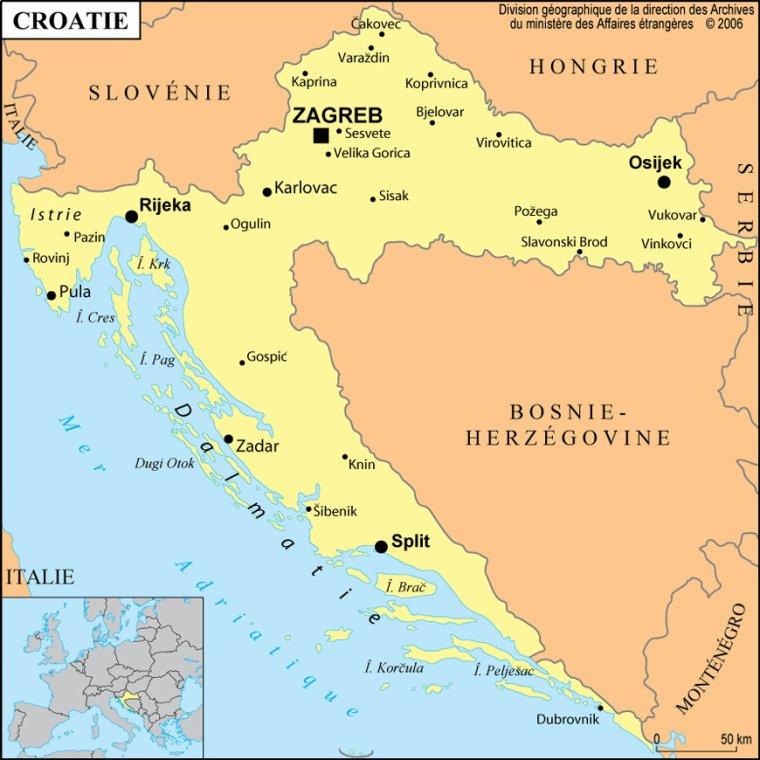 Les Pays _ _ Croatie