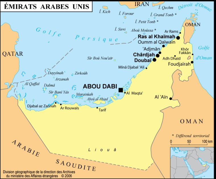 Les Pays _ _ Émirats arabes unis