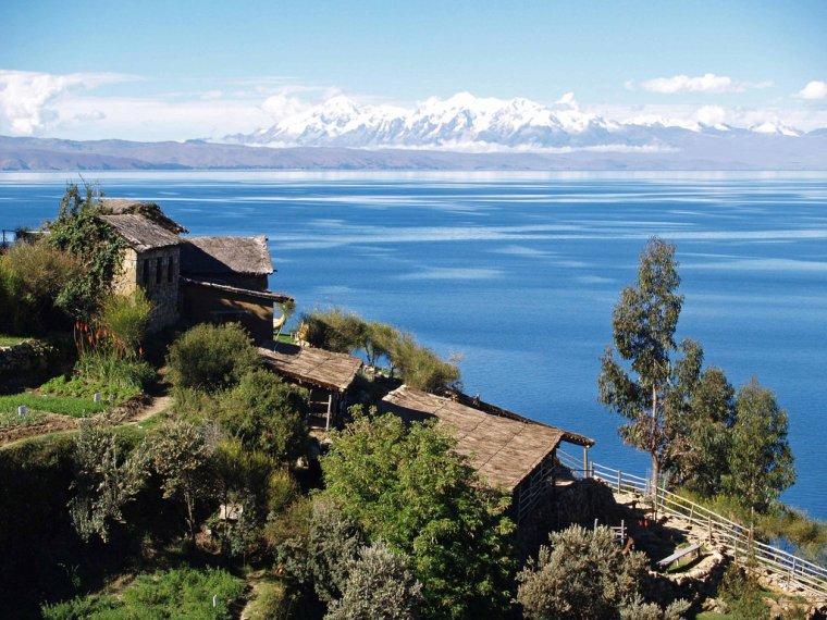 Lac Titicaca  _ _  Bolivie - Pérou