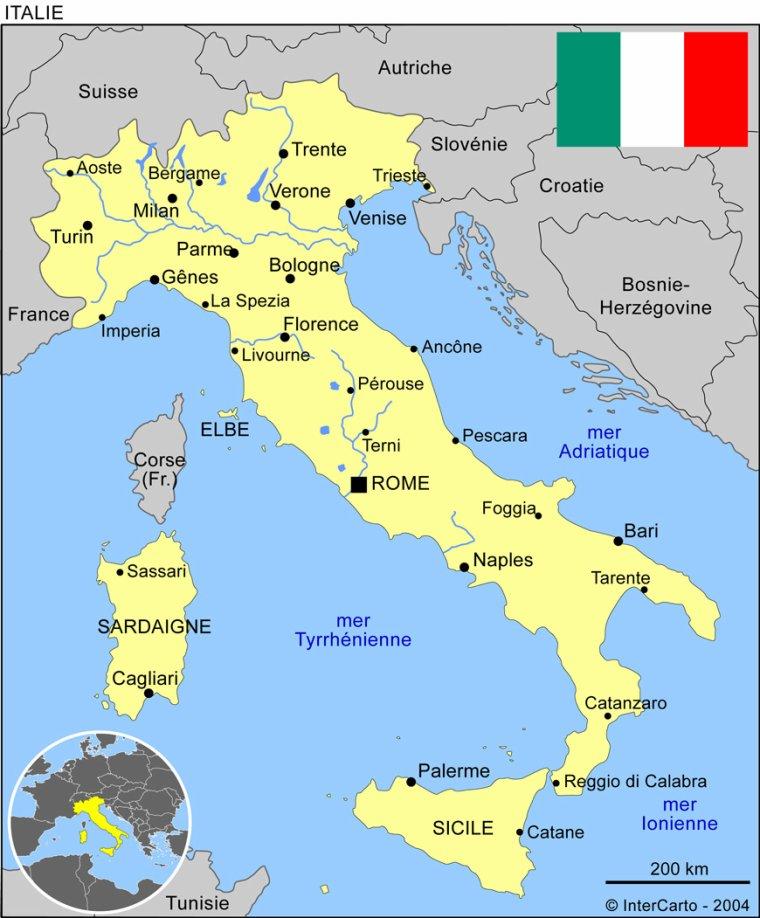 Les Pays _ _ Italie
