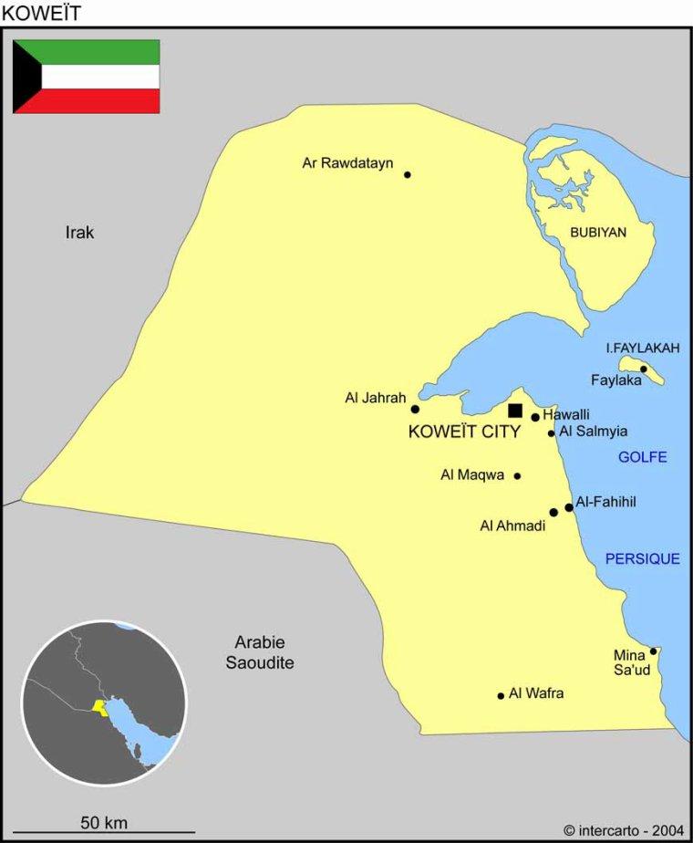 Les Pays _ _ Koweït