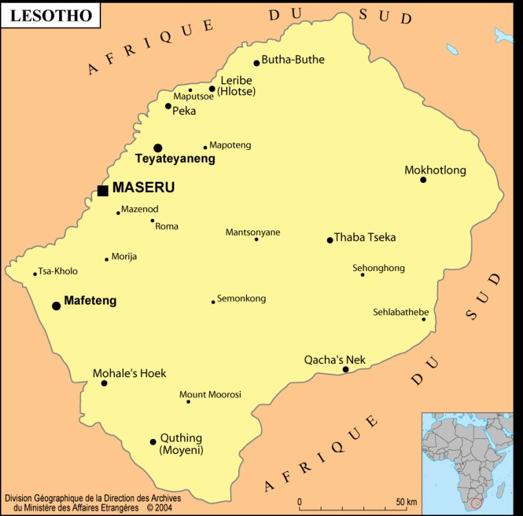 Les Pays _ _ Lesotho
