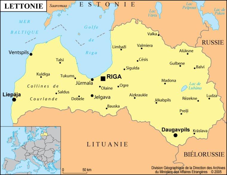 Les Pays _ _ Lettonie