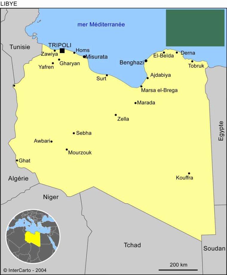 Les Pays _ _ Libye