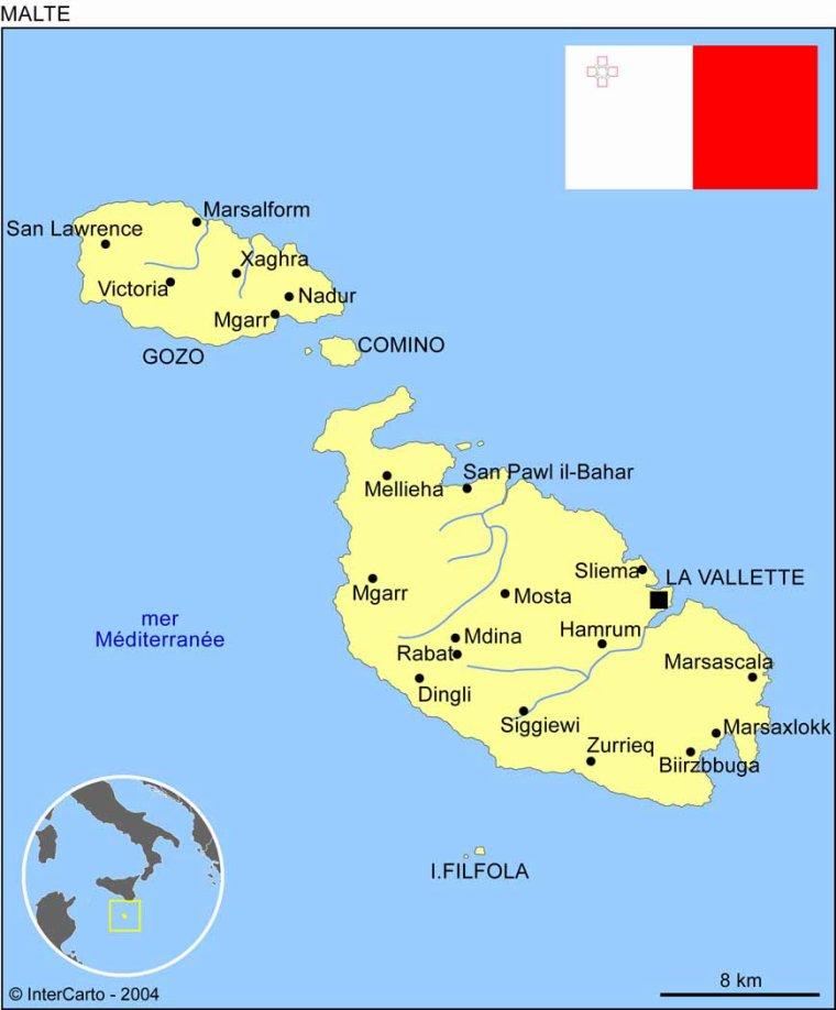 Les Pays _ _ Malte