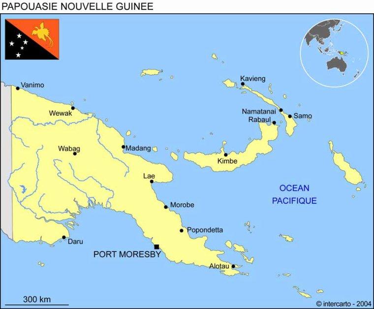 Les Pays _ _ Papouasie-Nouvelle-Guinée