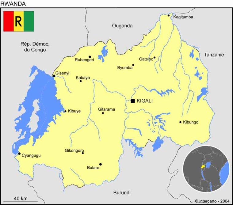Les Pays _ _ Rwanda