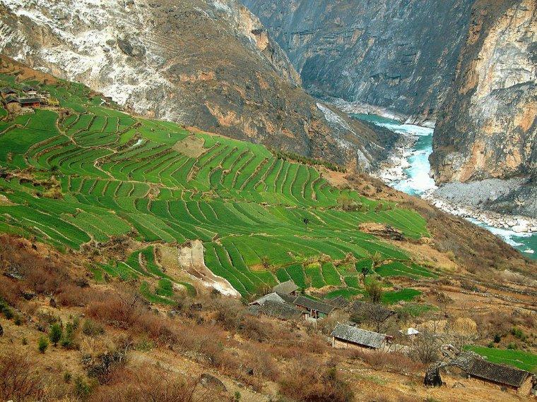 Bassins versants d'Asie _ Yangzi Jiang