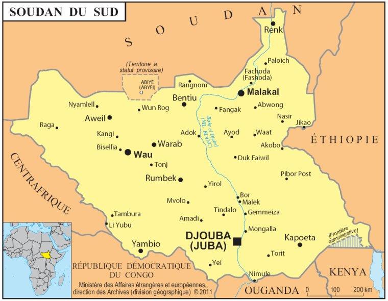 Les Pays _ _ Soudan du Sud