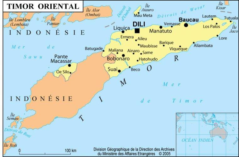 Les Pays _ _ Timor oriental