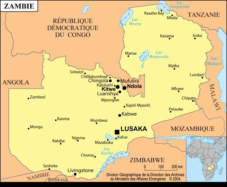 Les Pays _ _ Zambie
