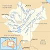 Bassins versants d'Océanie _ Bassin du lac Eyre