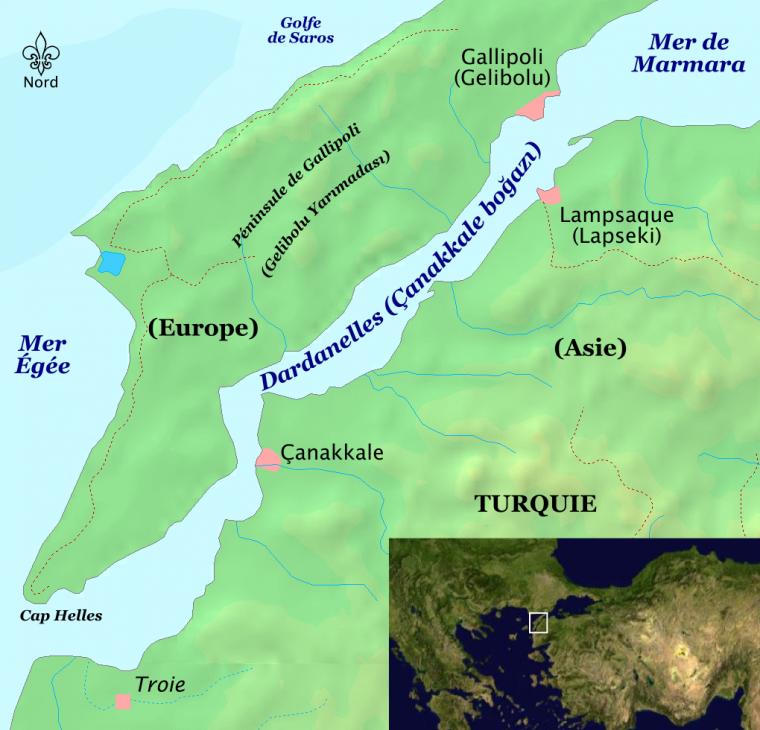 Détroit des Dardanelles