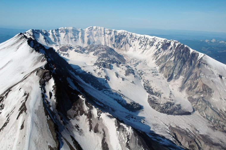 Stratovolcan _ _ Mont Saint Helens