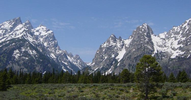 Chaîne de montagnes _ _ Montagnes Rocheuses