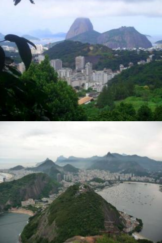 Rio de Janeiro et ses montagnes