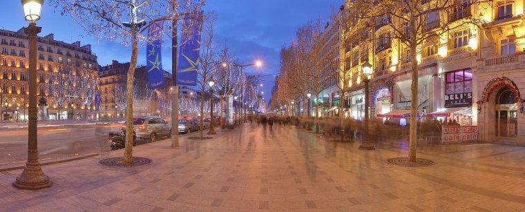 Quartiers des grandes villes _ Paris _ Avenue des Champs-Élysées