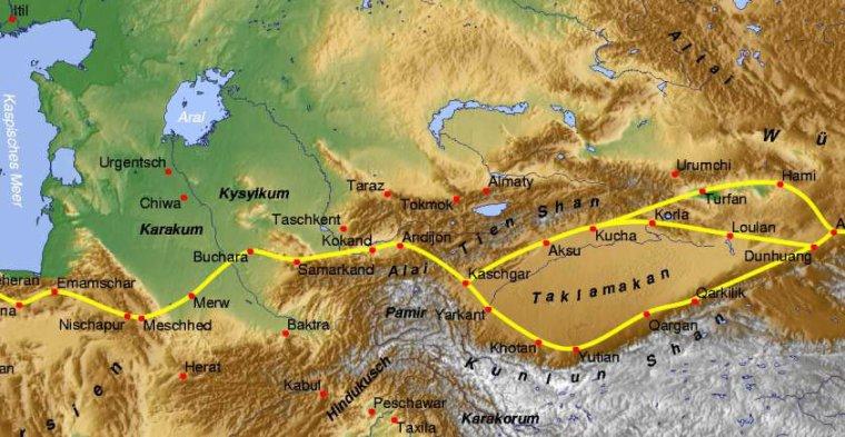 Région géographique _ _ Asie centrale