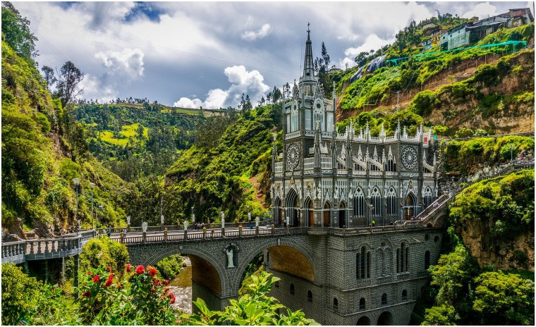 Colombie - Sanctuaire de Las Lajas
