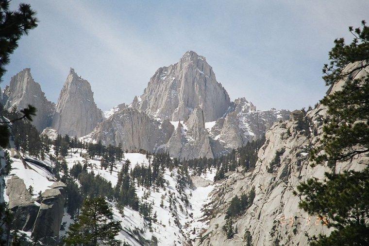 Chaîne de montagne _ Sierra Nevada (Californie)