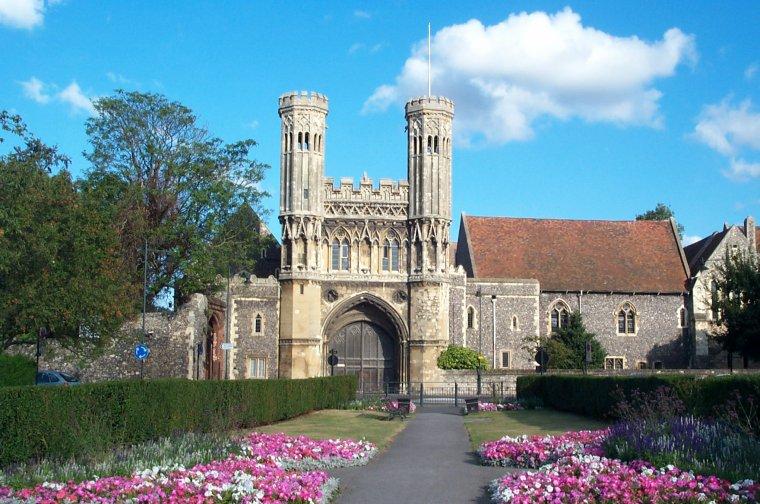 Abbaye Saint-Augustin de Cantorbéry