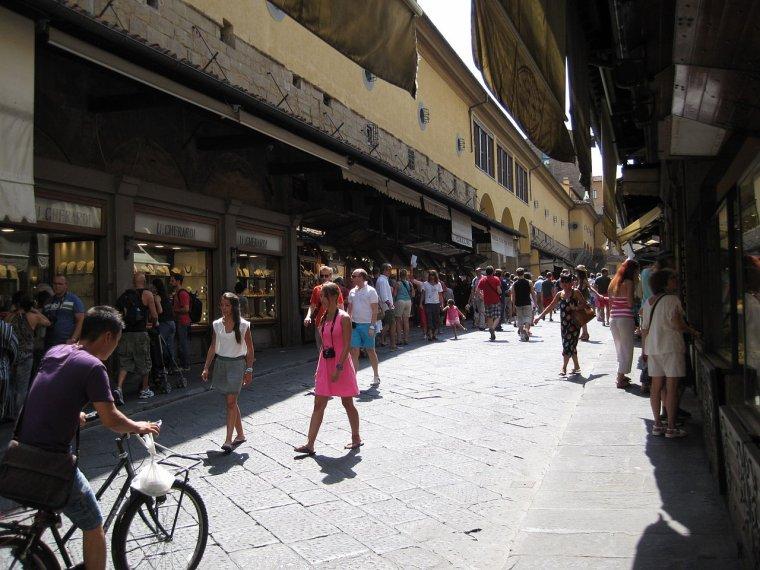 Pont habité  -  Ponte Vecchio