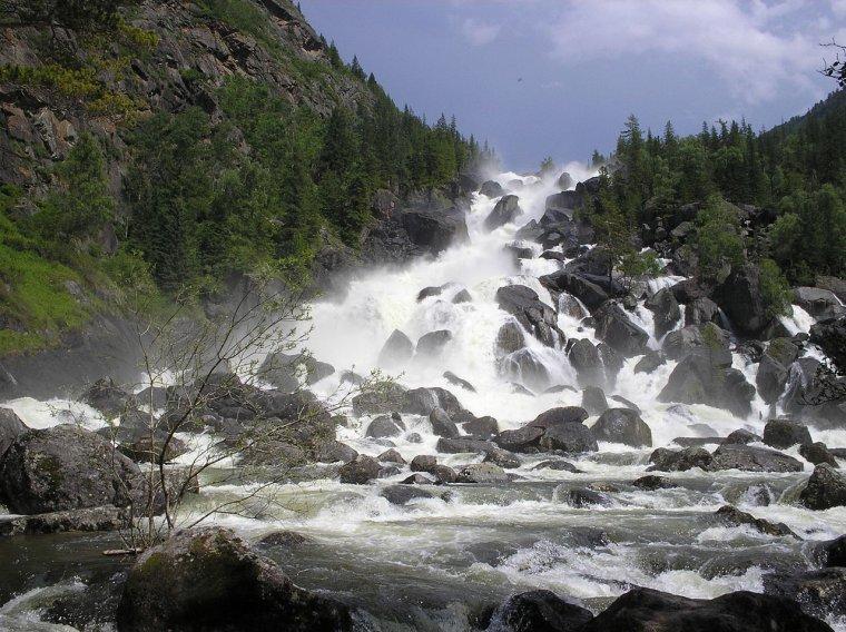 Chaîne de montagnes _ Altaï