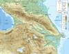 Chaîne de montagne _ Petit et Grand Caucase