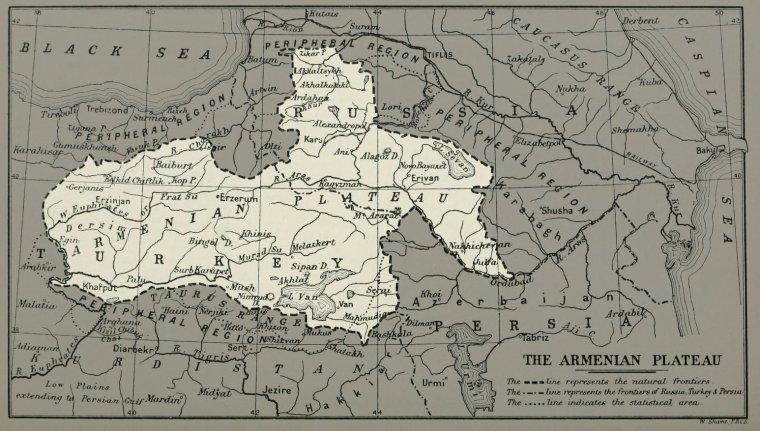 Haut Plateau Armenien Geographie De La Terre Depuis Ses Debuts