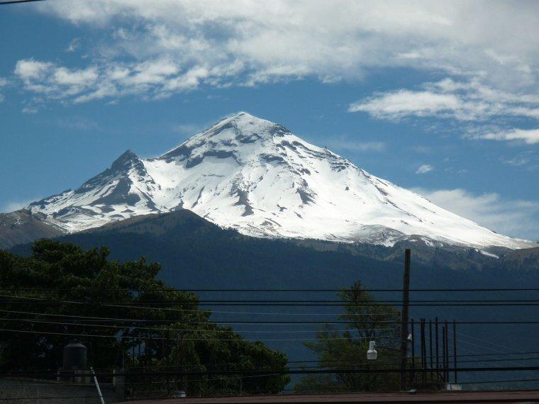 Volcan Actif, Méxique _ Popocatepetl