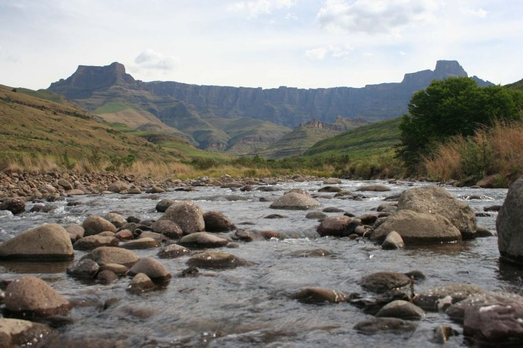 Chaîne de montagne _ Drakensberg