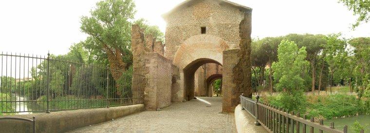 Ouvrages fortifiés _ Pont Nomentano
