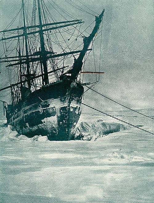 Baie de l'océan Arctique