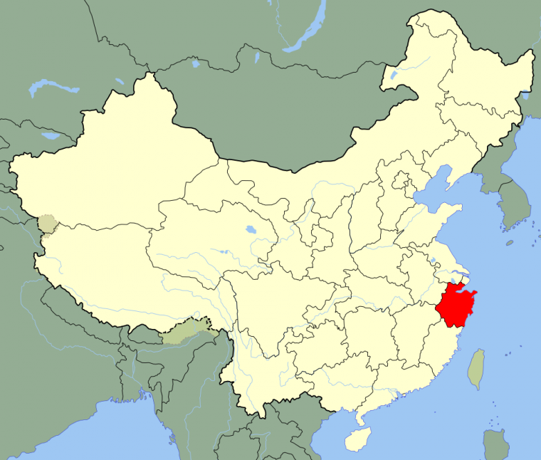 Les Provinces _ Zhejiang
