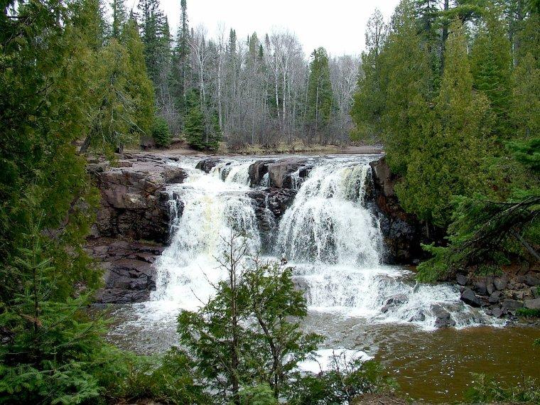 Chutes d'eau d'Amérique du Nord