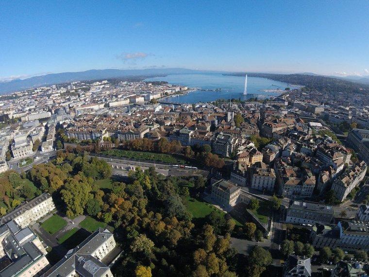 Grandes villes d'Europe _ Genève