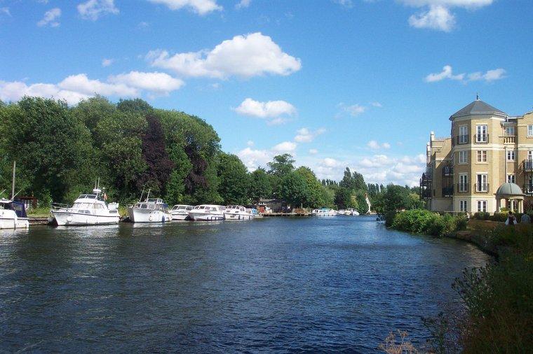 Bassins versants d'Europe _ La Tamise