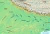 Bassins versants d'Asie _ Gange