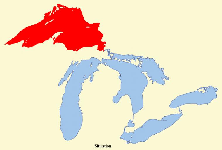 États-Unis et Canada _ Lac Supérieur
