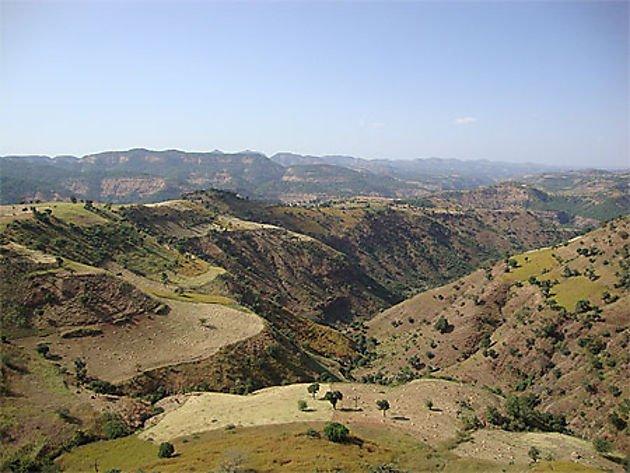 Paysages d'Ethiopie