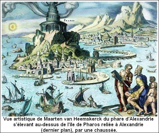 Les 7 Merveilles du monde _ Phare d'Alexandrie