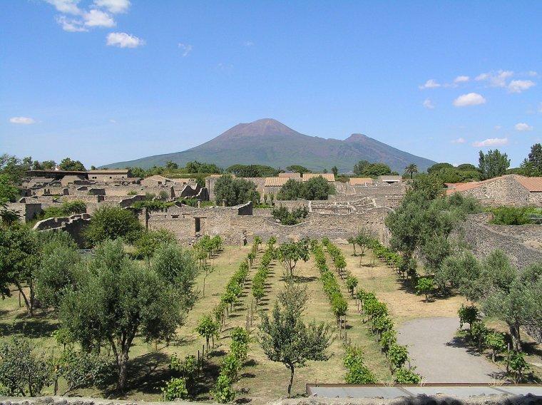 Villes disparues - Pompéi
