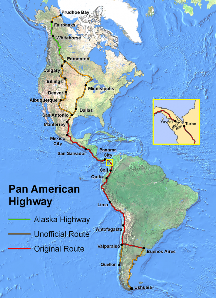 Route de légende _ Route panaméricaine