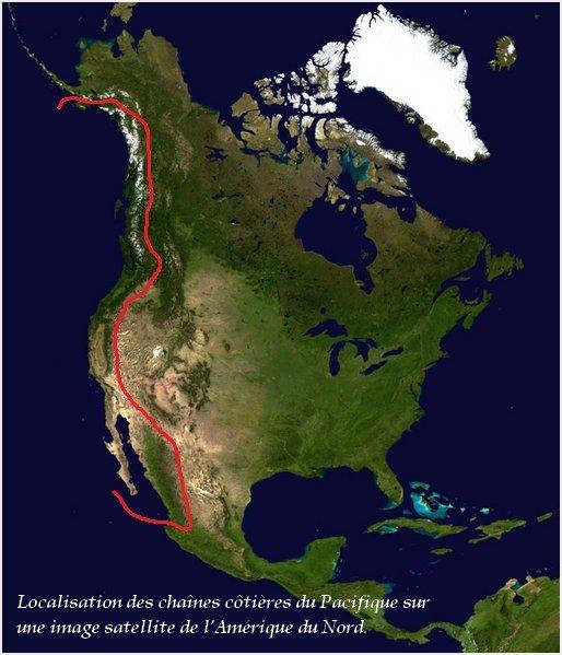 Chaînes côtières du Pacifique
