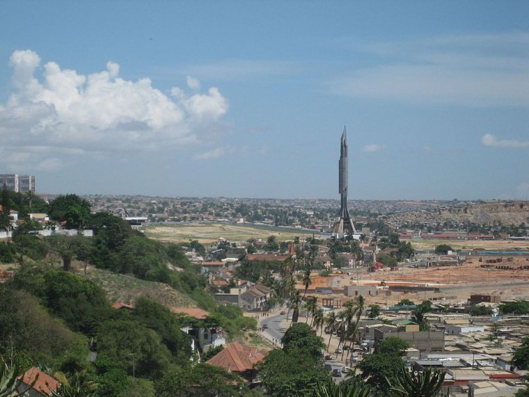 Les Capitales  -  Angola  _  Luanda